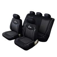 Coprisedili per Auto universali Schienale Posteriore frazionabile Bracciolo e airbag Compatibile Mod. Monterrey