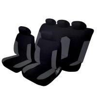 Coprisedili per Auto universali Schienale Posteriore frazionabile Bracciolo e airbag Compatibile Mod. Salvador