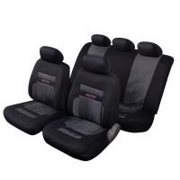 Coprisedili per Auto universali Schienale Posteriore frazionabile Bracciolo e airbag Compatibile Mod. San Paolo