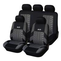 Coprisedili per Auto universali Schienale Posteriore frazionabile Bracciolo e airbag Compatibile Mod. Santa Fè