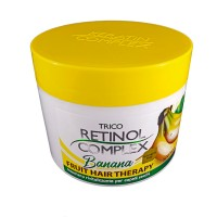 Retinol Complex Trico: Fruit Hair Therapy Banana - Maschera rivitalizzante per capelli secchi 500ml cod. 2064