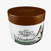 Retinol Complex Trico: Fruit Hair Therapy Macadamia - Maschera disciplinante per capelli crespi 500ml cod. 2088