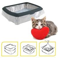 12 Sacchetti igienici per lettiere o cassetta igienica gatti