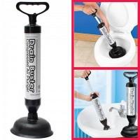 Sturalavandino a pompa manuale per scarichi wc a pressione Drain Buster