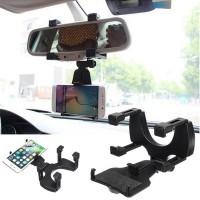 Supporto Universale Auto applicabile sullo specchietto retrovisore per Smartphone JHD-97