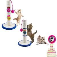 Tiragraffi Gioco per Gatti Affila Unghie di Vari Modelli e Misure