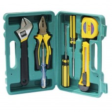 Kit set utensili 7 pezzi da lavoro fai da te con valigetta