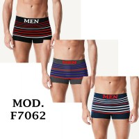 "6 Boxer da Uomo ""MEN"" comodi vari colori mod. F7062"