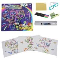 Tavolo Da Disegno creative magic con occhiali 3d per bambini cod.NO.SJ193