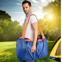 Borsa telo impermeabile 2 in 1 pic nic campeggio montagna mare travel bag