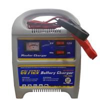 Carica Batteria per Auto e Moto con Voltaggio Regolabile da 6V o 12V