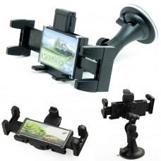 Supporto a ventosa per auto Smartphone Gps 360° Windshield orizzontale