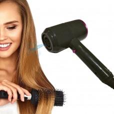 Asciugacapelli Professionale Blower Ion Negativi con 3 velocità con temperatura caldo e freddo