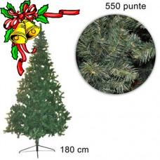 Albero di natale 1.80mt con 550 rami