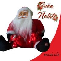 Babbo Natale xmas musicale addobbi e decorazioni natalizie