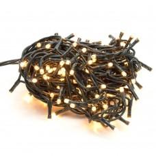 200 luci led colore Giallo con controller 8 funzioni filo verde per decorazioni natalizie albero natale minilucciole lampadine Lucciole