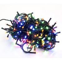 300 luci led colore multicolor con controller 8 funzioni filo verde per decorazioni natalizie albero natale minilucciole lampadine Lucciole