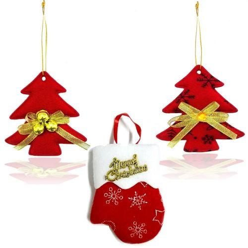 Addobbi natalizi imbottiti 10 pezzi albero natale guanto for Obi addobbi natalizi