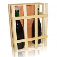 Porta bottiglie 3 posti per vino - prosecco - champagne