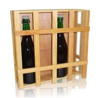 Porta bottiglie 4 posti per vino - prosecco - champagne
