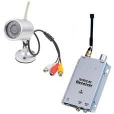Kit sorveglianza con telecamera wireless a infrarossi