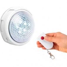 Lampada led d'emergenza per uso interno con telecomando