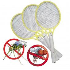 Rachetta 3 pezzi fulmina elimina insetti zanzare mosche