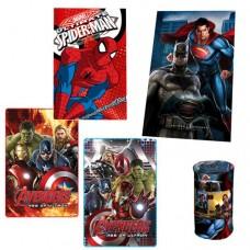 Coperta Plaid per bambini con supereroi Marvel Disney vari modelli a scelta