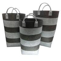 Set 3 laundry in felcro Grigio chiaro/Scuro
