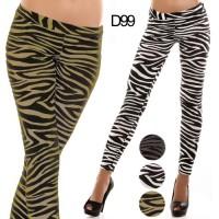 Leggings donna effetto Tigrato D99  3 colori 3 pezzi