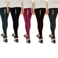 Leggings donna vari colori 6 pezzi mod. semaforo