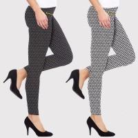 Leggings donna fantasia stelle 2 leggings