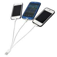 Cavo usb multifunzione 4 in 1 micro usb iphone 4 5 6 ipad samsung huawei tablet