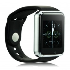 Smartwatch touch screen con scomparto sim e mini sd connessione bluetooth compatibile per IOS IPhone