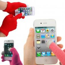 Guanti touch screen vari colori femminili 2 paia