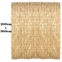 Recinto frangivento protezione in bambù 200 x 300 cm