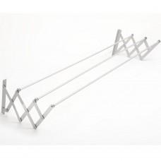 Stendibiancheria in alluminio a parete con 3 aste TA-60