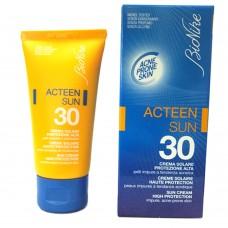 Crema Solare Bionike Acteen Sun 30 protezione alta