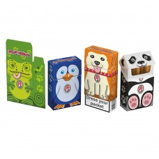 Cover Porta pacchetti sigarette pop filters varie fantasie 7 pezzi