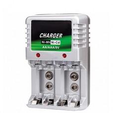 Caricabatterie universale 220v stilo mini stilo 9v AA AAA batterie pile nicd nimh