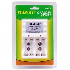 Carica Batterie A-612 pile ricaricabili  AA STILO AAA MINI STILO Batterie 9 Volt