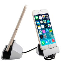 Dock Station Ricaricatore/Sync usb iPhone 6/6 Plus/iPhone 5-5s-5c /iPod touch 5/mini iPad