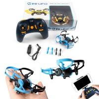Drone Mini Ufo 512W quadricottero che permettere il controllo sia via smartphone che radiocomando