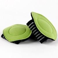 Fascia anti stress 2 pezzi per piedi tutore con cuscinetti corsa postura
