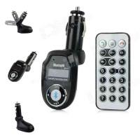 Modulatore Bluetooth 2V.1 + EDR per auto FM/MP3/CAR CHARGER USB/USB A2DP