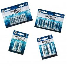 Batterie Reflexx Energy vari tipi a scelta AA/AAA/C/D