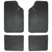 Tappetini in gomma auto tappeto universale 4 pezzi antiscivolo