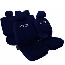 Coprisedili Citroen C3 - blu
