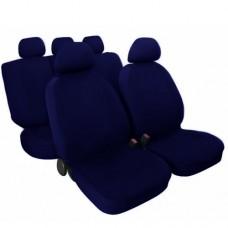 Copri sedili Maxi colore blu scuro per auto con sedili grandi