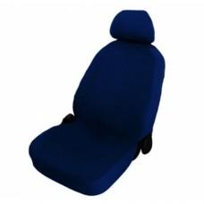 Coprisedili singolo colore blu per auto